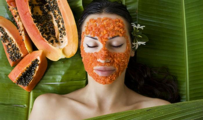 Papaya mask