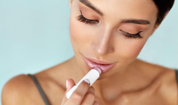 Use tinted lip balms