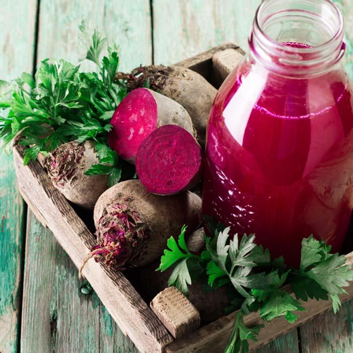Use beetroot juice