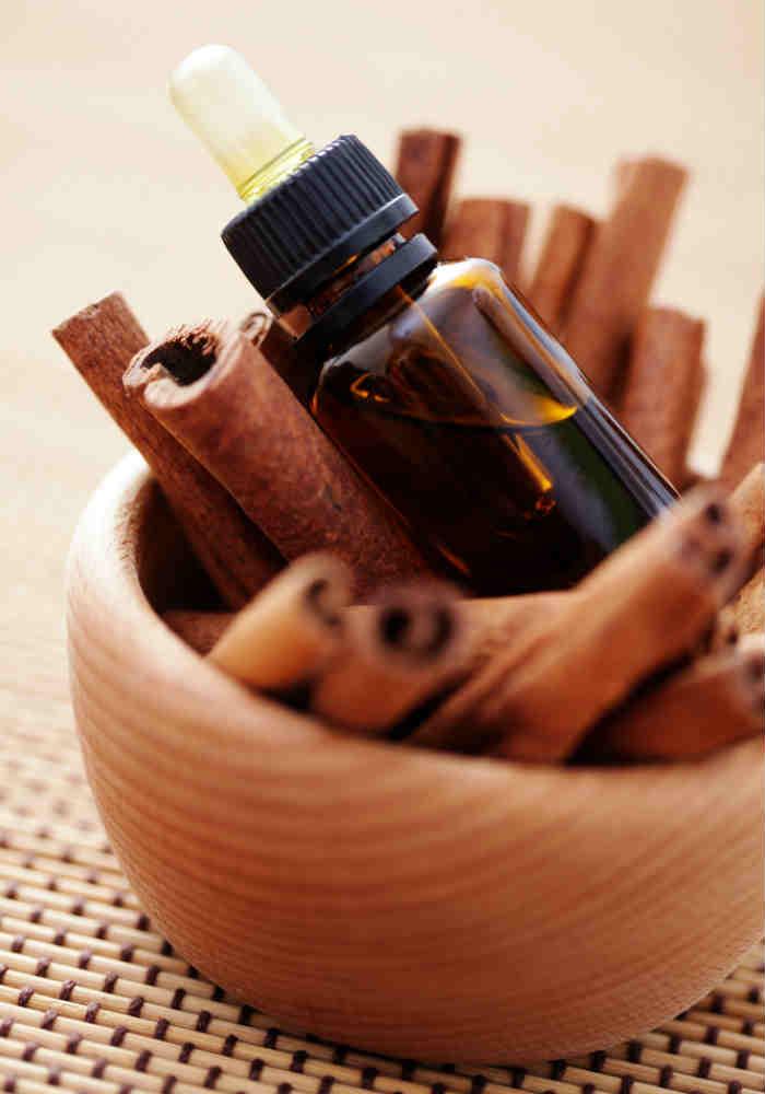 Use cinnamon oil