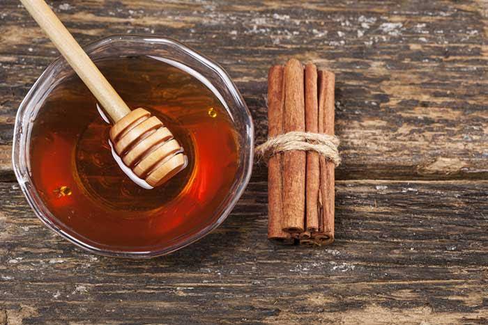 cinnamon and honey strips