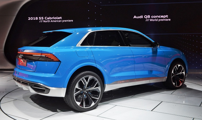 Audi Q8 concept at Detroit - rear