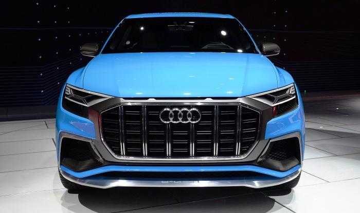 Audi Q8 concept at Detroit - front