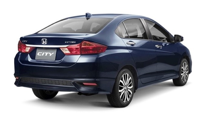 2017 Honda City Facelift Rear