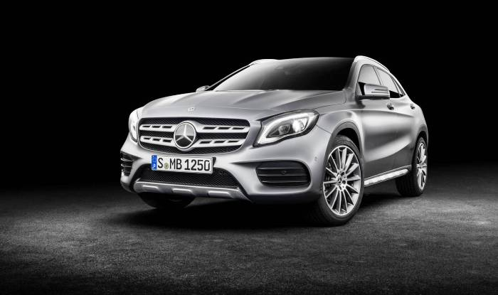 2017 Mercedes-Benz GLA facelift
