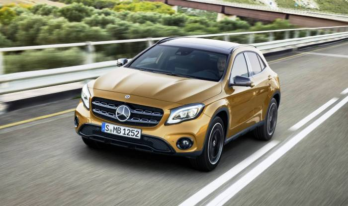 2017 mercedes benz gla unveiled in detroit images for Mercedes benz gla class india