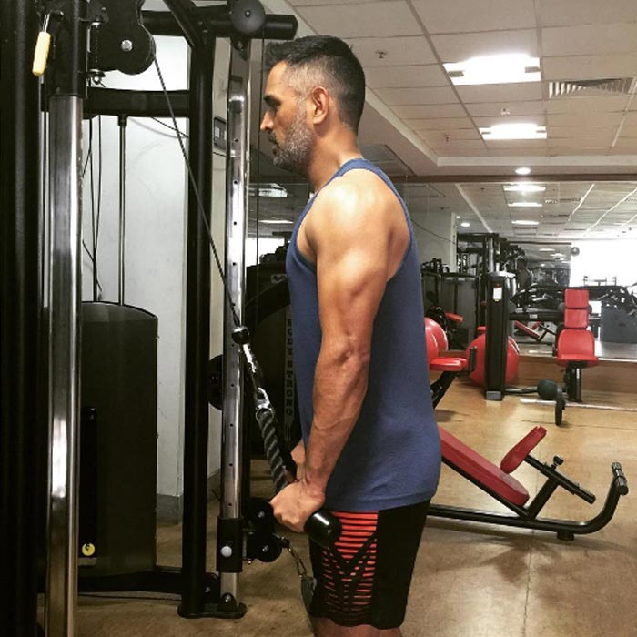 Image result for dhoni  body pic
