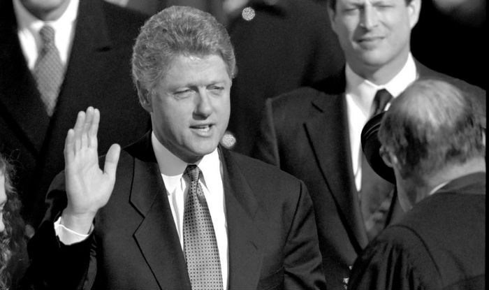 """a look at the 1998 presidential sex scandal involving bill clinton August 17, 1998: president bill clinton acknowledges an affair with a   coverage of bill clinton's denial of """"sexual relations with that woman,."""