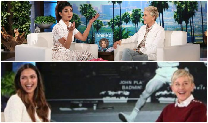 Did Deepika Padukone Act With Jyothika In A South Indian: Deepika Padukone's Debut On The Ellen DeGeneres Show Looks