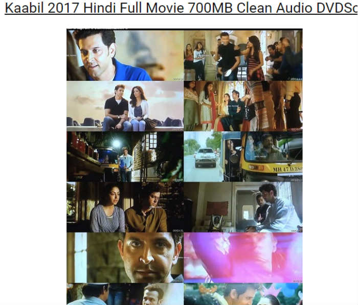 Kaabil Movie Download 720p Kickass