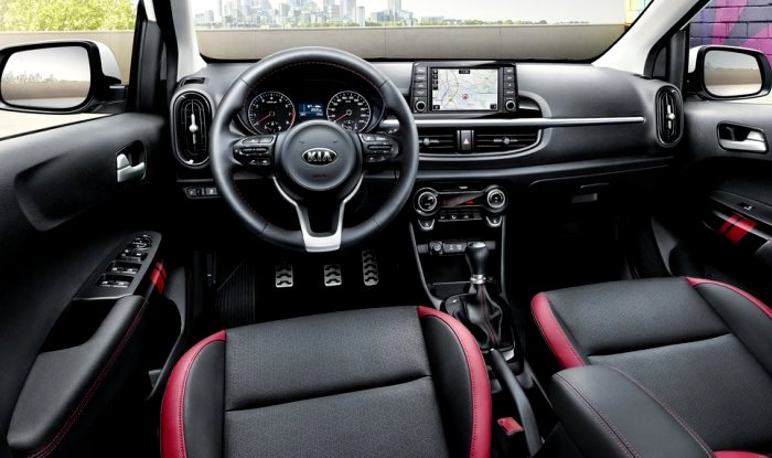 kia picanto 2017 revealed ahead of launch at geneva motor. Black Bedroom Furniture Sets. Home Design Ideas