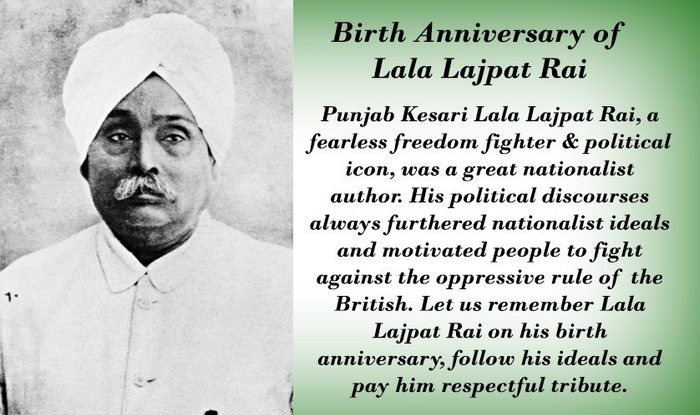 Lala Lajpat Rai 151st birth anniversary: Narendra Modi ...