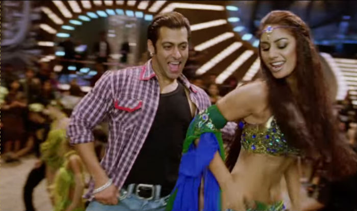 Salman Khan and Mahek Chahal