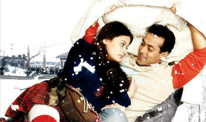 Salman Khan and Sneha Ullal