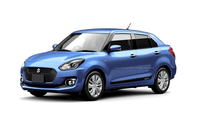 Maruti Suzuki Swift Dzire 2017 render images reveal ...