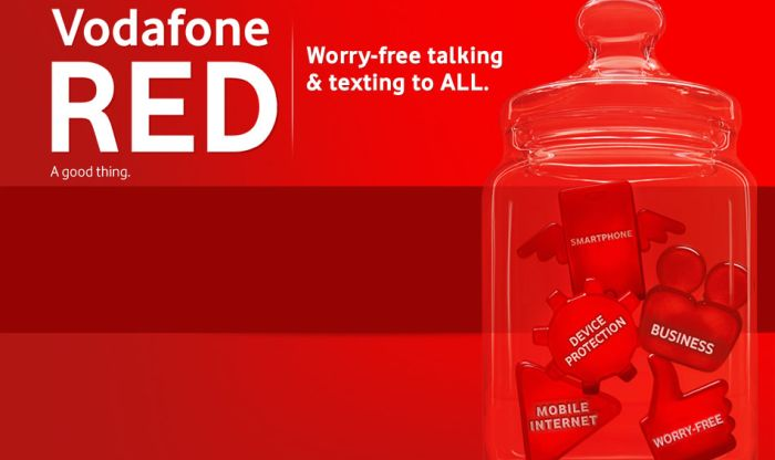 Vodafone includes international roaming in $100 Red plans