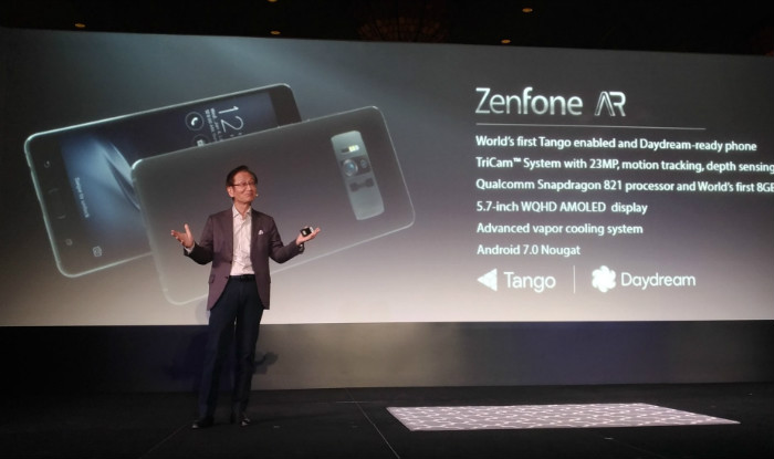 CES 2017 Day 2 Highlights: Asus Zenfone AR sporting 8GB RAM
