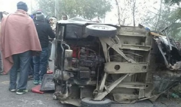 four-killed-in-car-jeep-collision-in-ups-unnao/