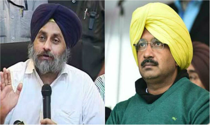 By projecting Arvind Kejriwal as CM candidate, AAP proves its distrust for Punjabis: Sukhbir Singh Badal | India.com