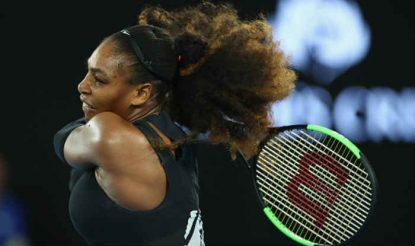 Galerry Australian Open 2017 Roger Federer Serena Williams Angelique Kerber