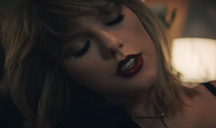Taylor's glitter lips