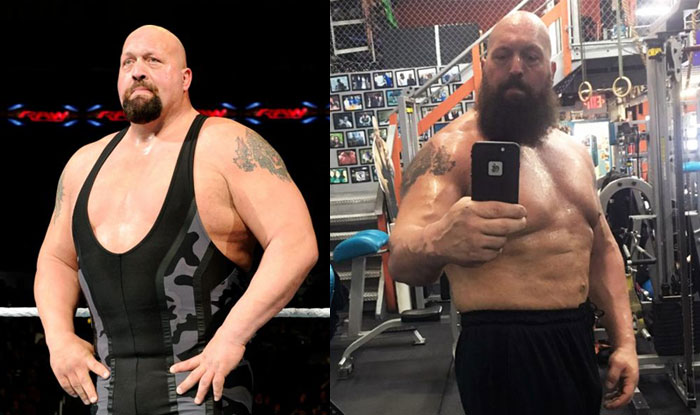 Big show weight loss ahead of wrestlemania 2017 wwe superstar looks image wwe m4hsunfo