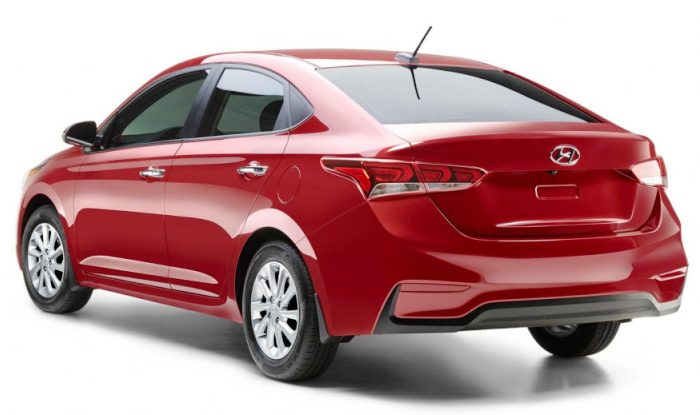 2018 hyundai accent sedan unveiled launch in q3 2017 find new upcoming cars latest car. Black Bedroom Furniture Sets. Home Design Ideas