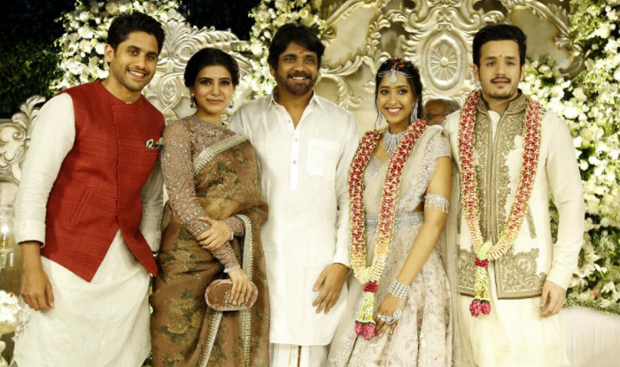 Akhil Akkineni And Shriya Bhupal Engagement