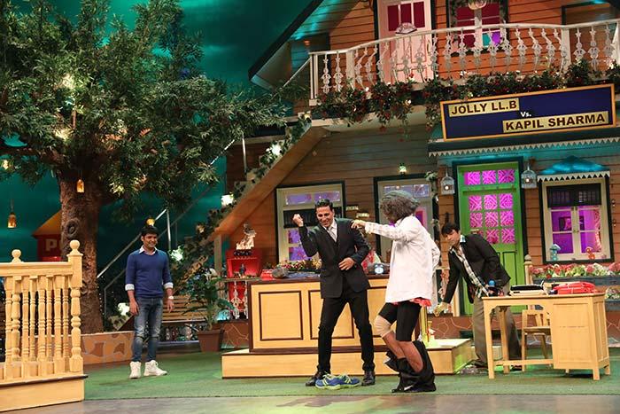 Jolly LLB 2 on The Kapil Sharma Show: Akshay Kumar & Huma Qureshi