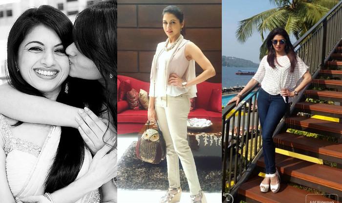 Salman Khan's first girl Bhagyashree's birthday ...