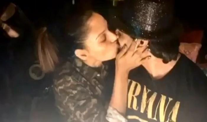 Bipasha KSG birthday kiss