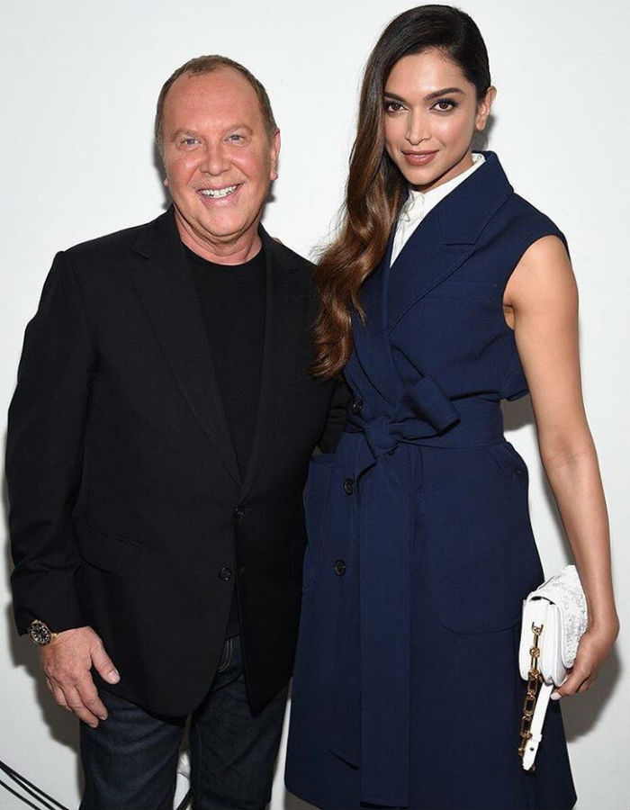 Deepika Padukone and Michael Kors