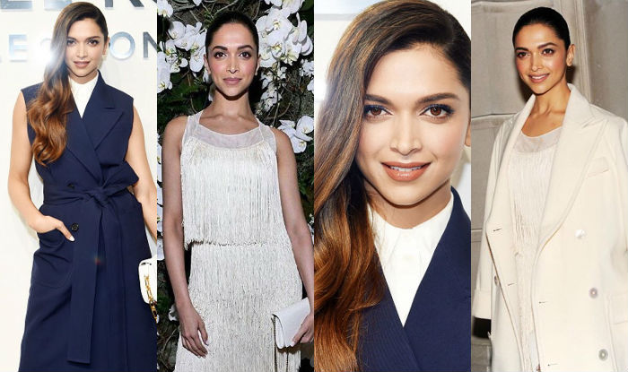 Deepika Padukone at New York Fashion Week Fall Winter 2017