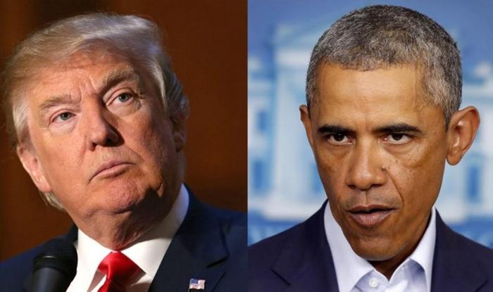 Donald Trump-Barack Obama