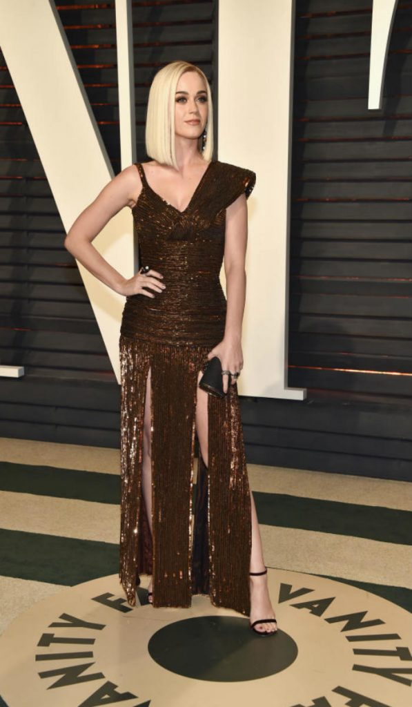 When Katy Perry suffered an embarrassing wardrobe malfunction at the Academy Awards