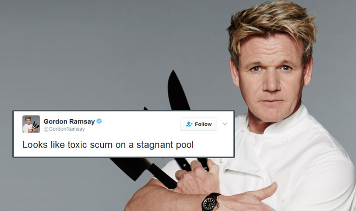British Chef Gordon Ramsay Was Asked To Review Dishes On