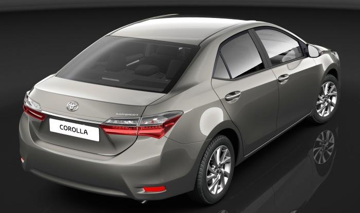 2017 Toyota Corolla Altis Rear