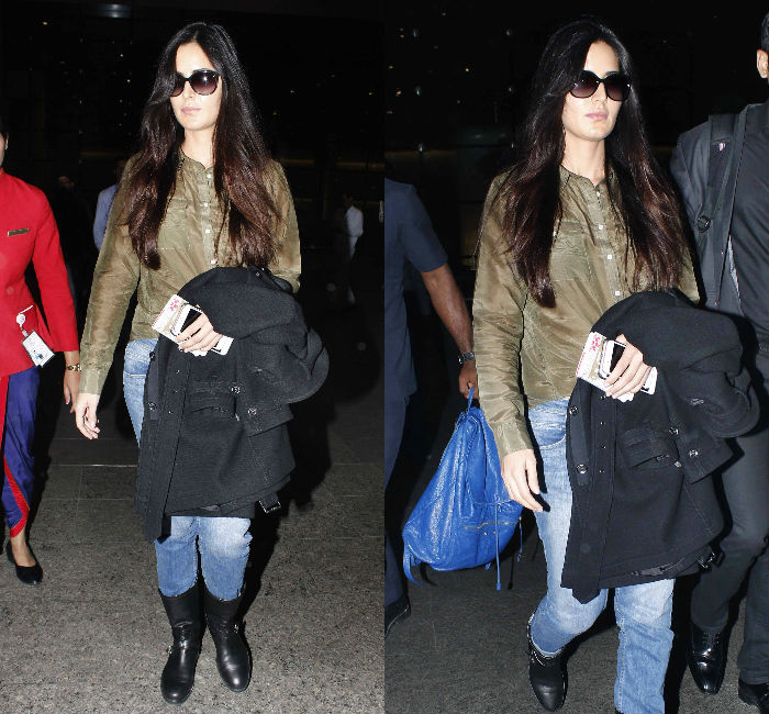 Katrina Kaif Airport Style