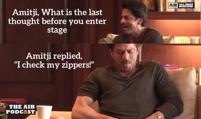 "SRK ""I check my zippers!"""