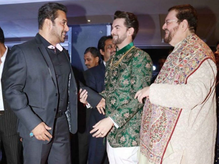 Salman neil nitin mukesh wedding reception