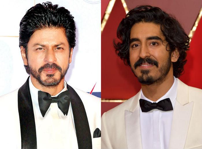 Shah Rukh Khan and Dev Patel