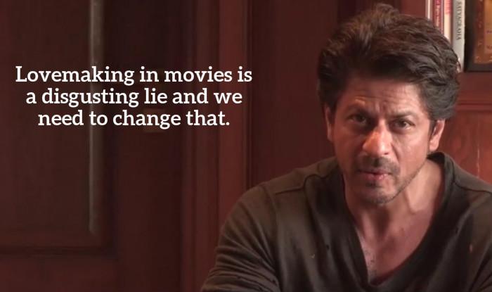 Shah Rukh Khan on Love Making