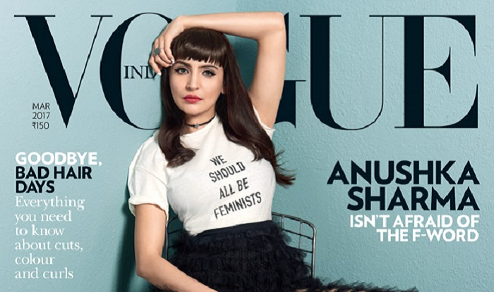 """feminism and vogue cover When lauren duca's excellent teen vogue op-ed on donald trump's  user  noted, had """"big words for a magazine about hairstyles and celebrity gossip   that shift is largely thanks to the rise of the feminist blogosphere."""
