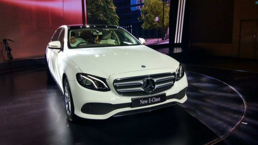 Live mercedes benz e class launch in india get live for All models of mercedes benz cars in india