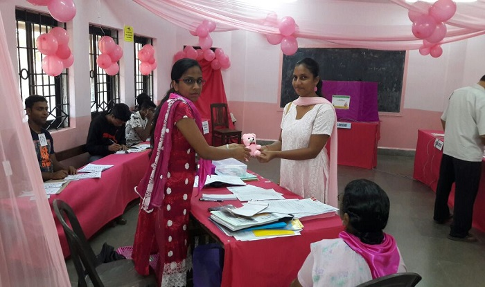 goa assembly elections 2017 pink polling booths and teddy