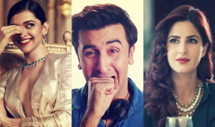 Ranbir Kapoor's ex girlfriends Deepika Padukone & Katrina ...