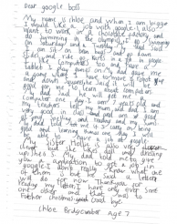 What Google CEO Sundar Pichai said to Chloe 7 years old girl who wants to work in Google