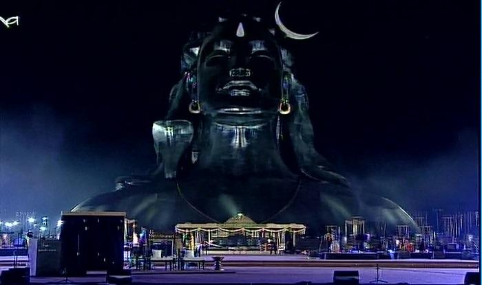Narendra Modi unveils the 112 feet Shiva statue in ...
