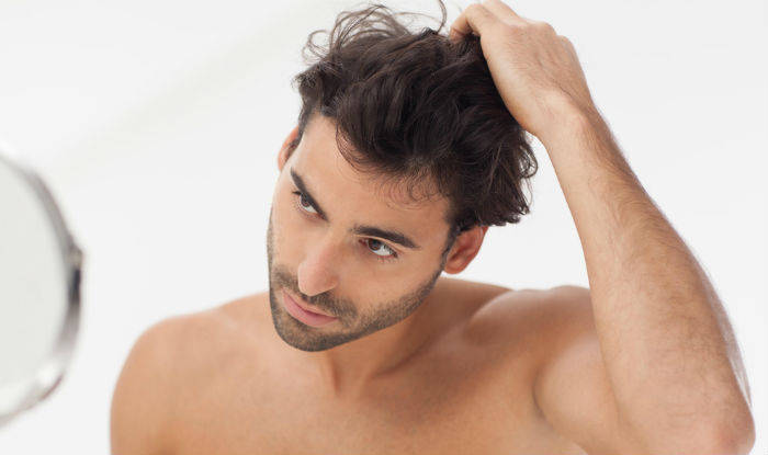 Check your face for ingrown hairs