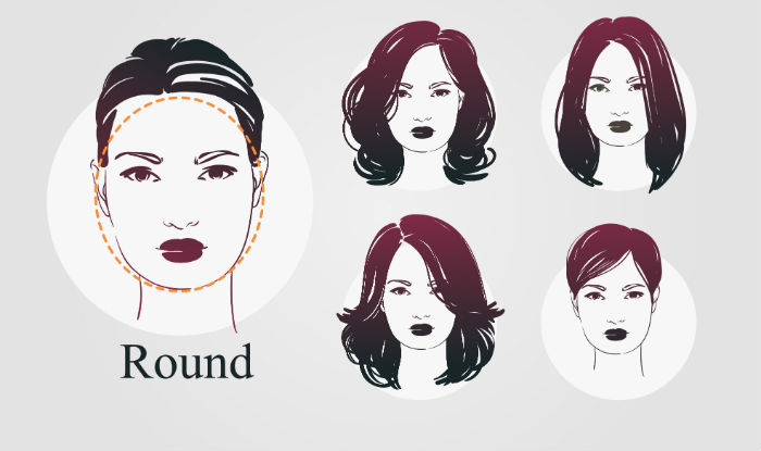 Haircuts According To Face Shape How Choose For Round Oval Square